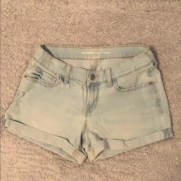 Old Navy Pants - light wash, old navy boyfriend jean shorts